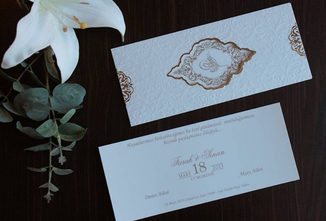 Armoni Wedding Invitation 20417