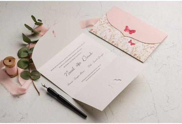Ekonom Wedding Invitation 9107