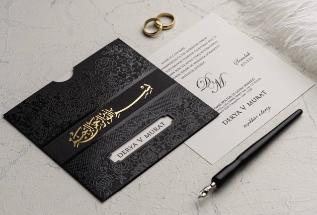 Ekonom Wedding Invitation 9179