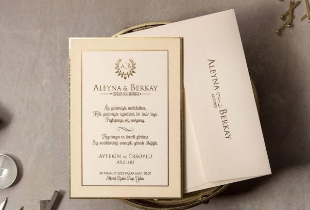 Velvet Wedding Invitations 8402
