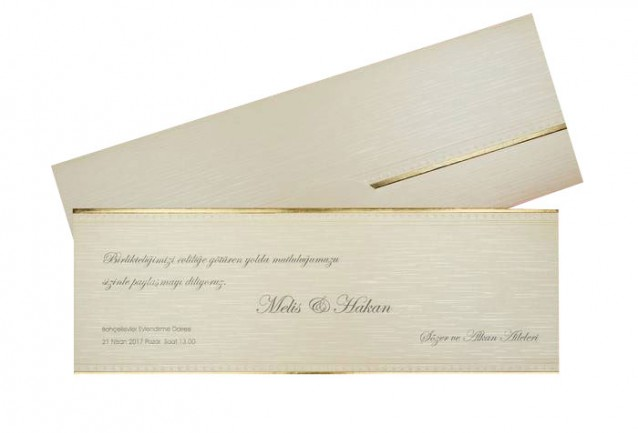 Popular Wedding Invitation 2698