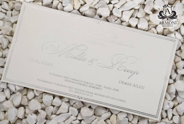 Luxury invitations 19342