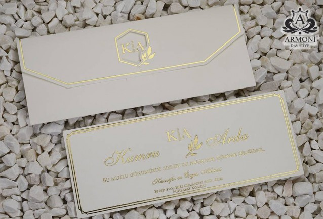Luxury invitations 19349